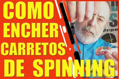 Encher carretos de spinning